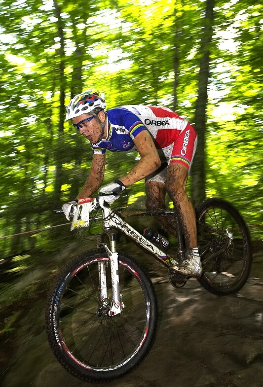 Nissan UCI MTB World Cup XC#6 - Mont St. Anne 27.7. 2008 - Julien Absalon
