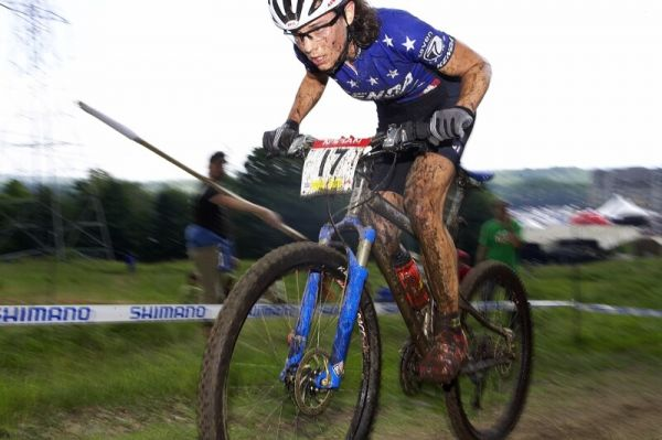 Nissan UCI MTB World Cup XC#6 - Mont St. Anne 27.7. 2008 - Mary McConeloug