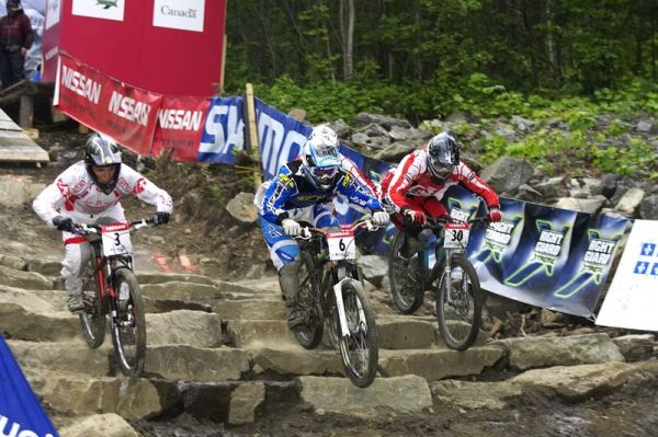 Nissan UCI MTB World Cup 4X#4 - Mont St. Anne, 26.7. 2008 - Tom� Slav�k (�.6)