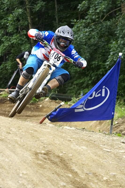 Nissan UCI MTB World Cup 4X#4 - Mont St. Anne, 26.7. 2008 - Kamil Tatarkovi�