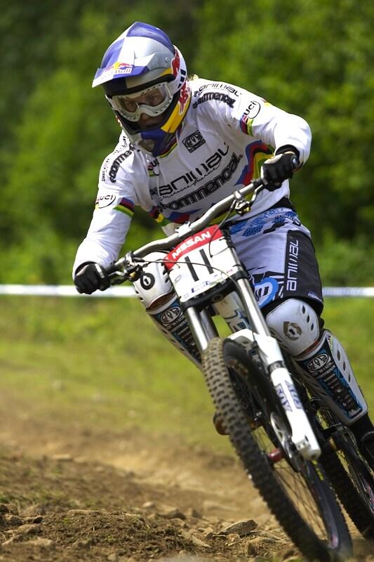 Nissan UCI MTB World Cup DH #4 - Mont St. Anne 26.7. 2008 - Rachel Atherton