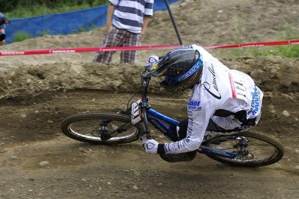 Nissan UCI MTB World Cup DH #4 - Mont St. Anne 26.7. 2008 - Julien Camellini