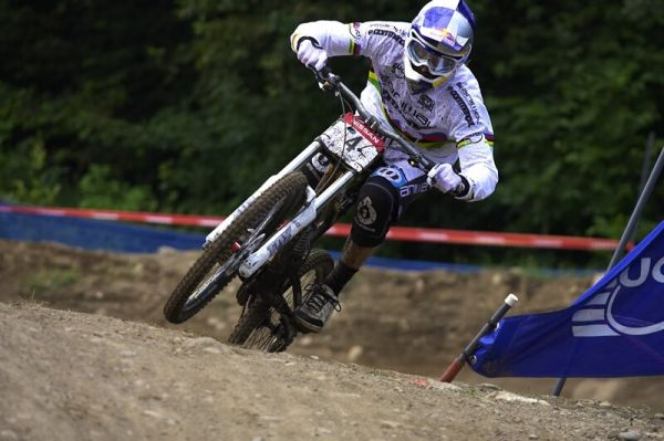 Nissan UCI MTB World Cup DH #4 - Mont St. Anne 26.7. 2008 - Gee Atherton