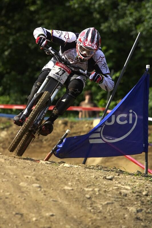 Nissan UCI MTB World Cup DH #4 - Mont St. Anne 26.7. 2008 - Greg Minaar