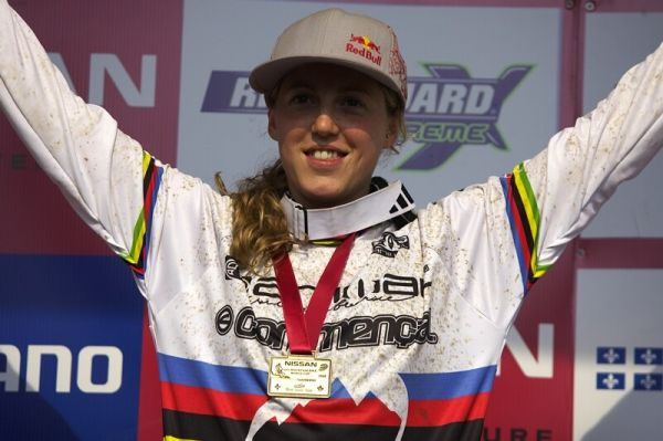 Nissan UCI MTB World Cup DH #4 - Mont St. Anne 26.7. 2008 - Rachel Atherton