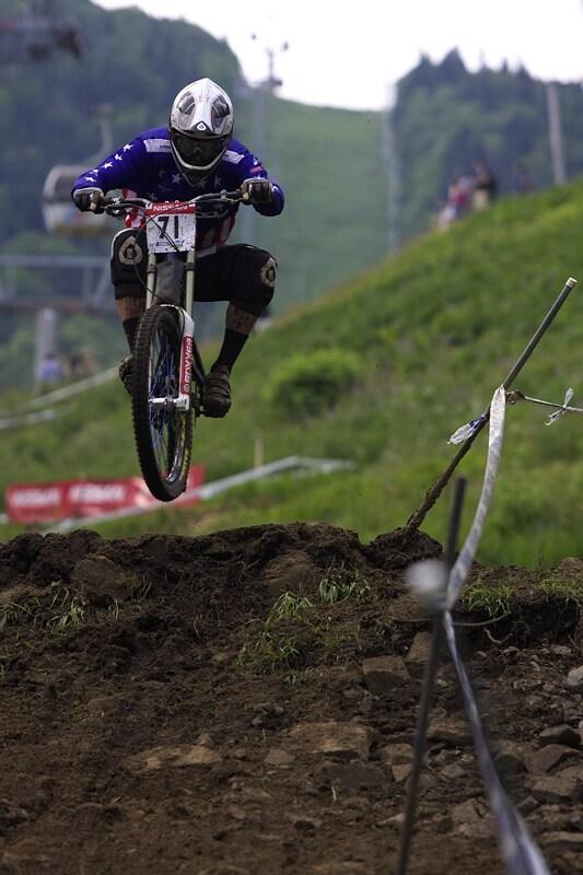 Nissan UCI MTB World Cup DH #4 - Mont St. Anne 26.7. 2008  - Geritt Beytagh