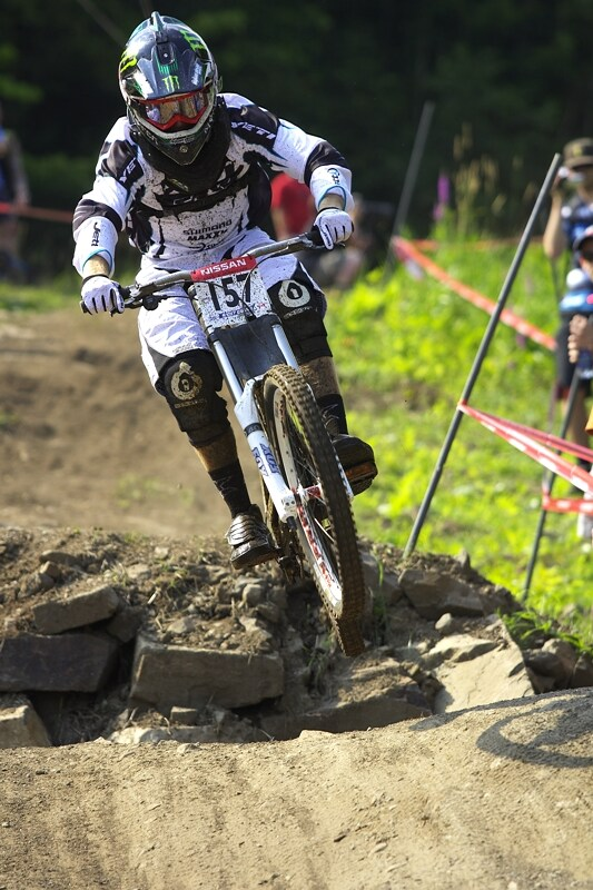 Nissan UCI MTB World Cup DH #4 - Mont St. Anne 26.7. 2008 - Holmes Aaron Gwin