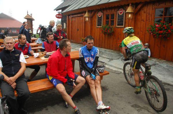 MČR Maraton 2008 - Kelly's Beskyd Tour: Pavla Havlíková na Pustevnách