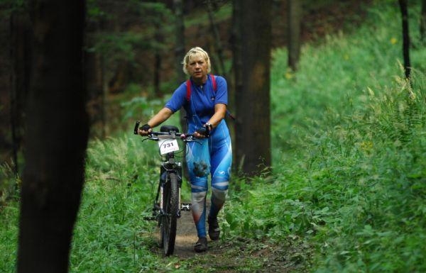 MČR Maraton 2008 - Kelly's Beskyd Tour: někdo stačil sbírat i houby