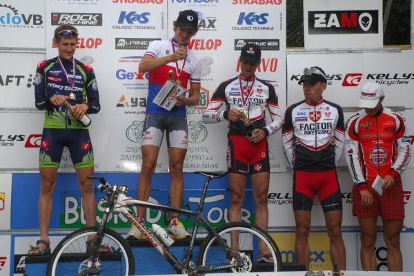 MČR Maraton 2008 - Kelly's Beskyd Tour: 1.Novák, 2.Jobánek, 3.Novotný, 4.Vokrouhlík, 5.Rybařík