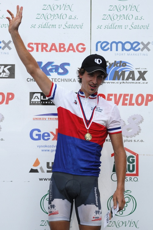 MČR Maraton 2008 - Kelly's Beskyd Tour: Mistr ČR XCM '08 Jiří Novák