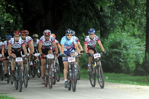 Trek P�es t�i vrchy Vyso�iny 2008 - start pades�tky