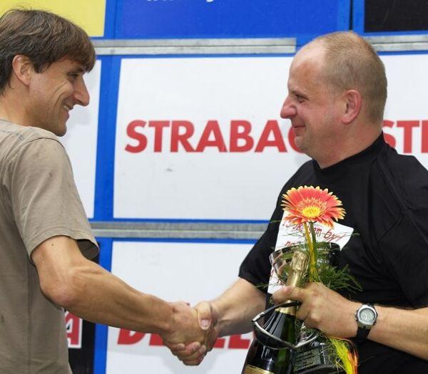 Mistrovství ČR XC - Velké Losiny 12.-13.7. 2008 - Petr Marek a Ivan Vavřík