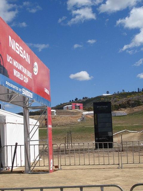 Nissan UCI MTB World Cup 2008 - Canberra/AUS - 4X trať
