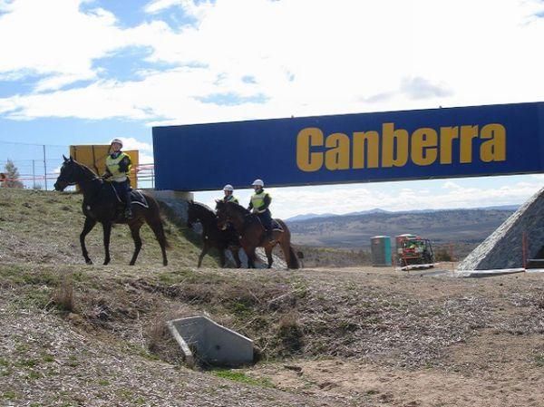 Nissan UCI MTB World Cup 2008 - Canberra/AUS - XC okruh je umístěn do multifunkčního Stromlo Parku