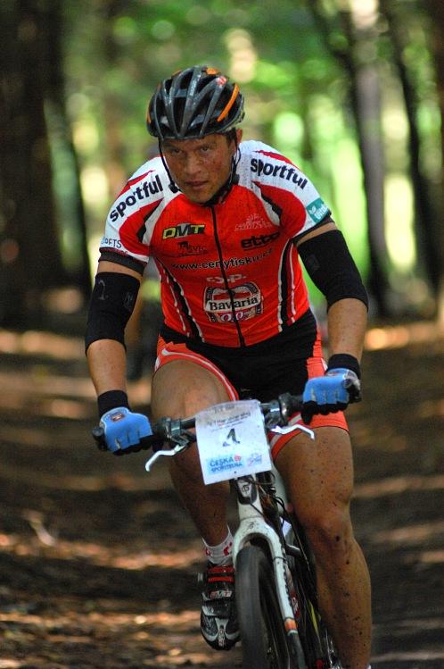 KP� Karlovarsk� AM bikemaraton �S 2008: Ivan Ryba��k