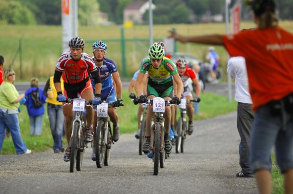 KPŽ Karlovarský AM bikemaraton ČS 2008: druhá skupina