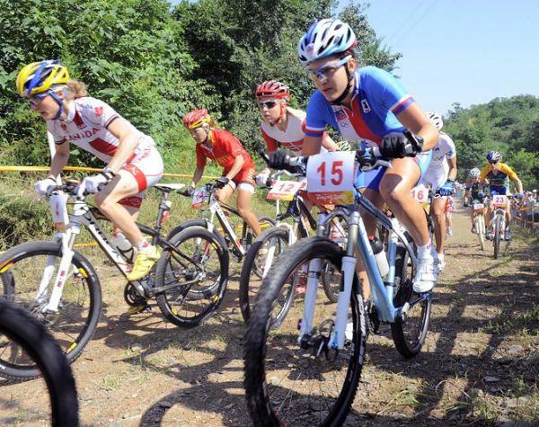Olympijské hry 2008 - Peking - Tereza Huříková, foto: Rob Jones