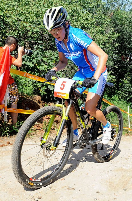 Olympijské hry 2008 - Peking - Irina Kalentieva, foto: Rob Jones