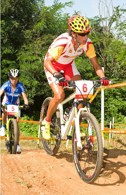 Olympijské hry 2008 - Peking - Marga Fullana ještě v čele, foto: Casey B. Gibson