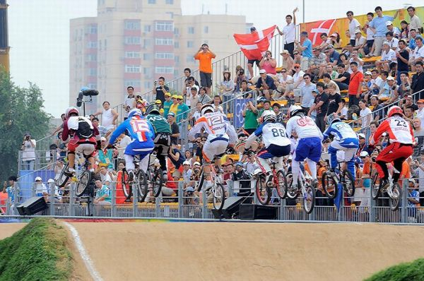 BMX - Olympijské hry - Peking 2008  , foto: Rob Jones/Canadiancyclist.com