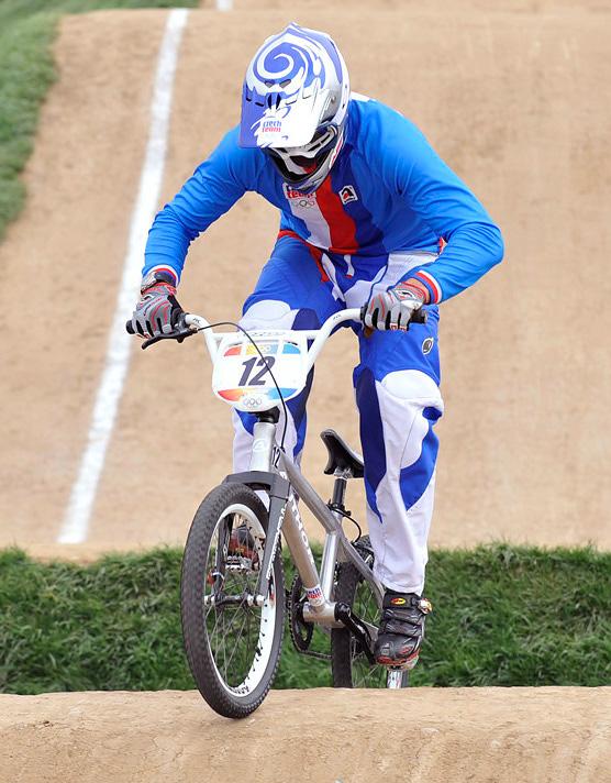 BMX - Olympijské hry - Peking 2008 - Michal Prokop , foto: Rob Jones/Canadiancyclist.com