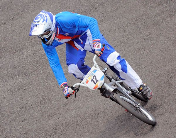 BMX - Olympijské hry - Peking 2008  - Michal Prokop, foto: Rob Jones/Canadiancyclist.com