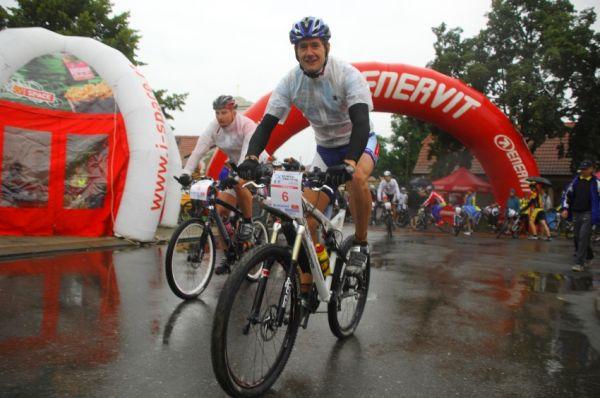 ČP XCM #5 2008 - Giant eXtreme Bike Brdy: Tomáš Trunschka a Pavel Boudný před startem