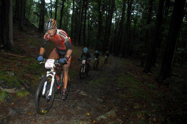 ČP XCM #5 2008 - Giant eXtreme Bike Brdy: Ivan Rybařík, Jakub Šilar, Václav Ježek a Aleš Kestler