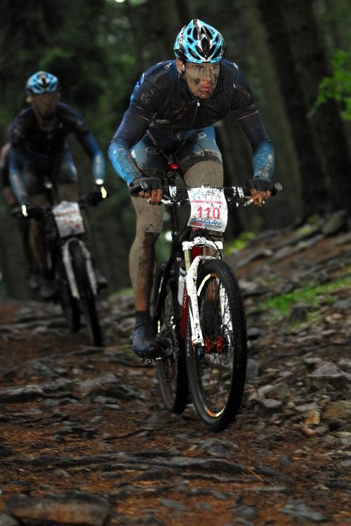 ČP XCM #5 2008 - Giant eXtreme Bike Brdy: Václav Ježek ve sjezdu