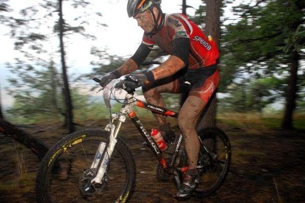 ČP XCM #5 2008 - Giant eXtreme Bike Brdy: Ivan Rybařík po prvním defektu pátý