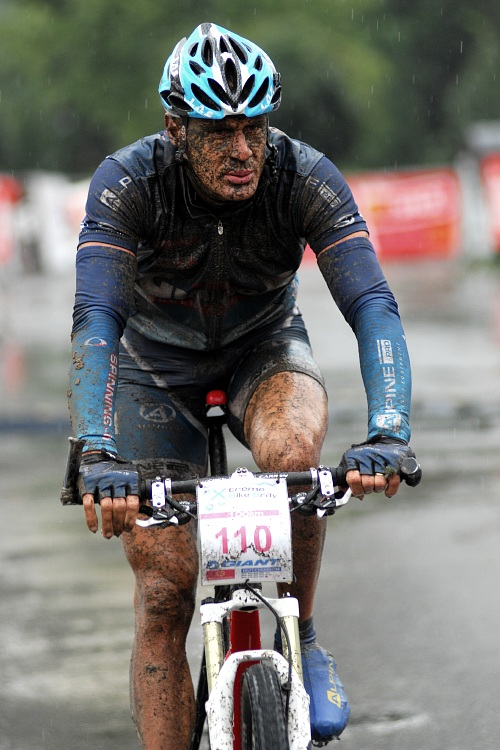ČP XCM #5 2008 - Giant eXtreme Bike Brdy: Václav Ježek druhý