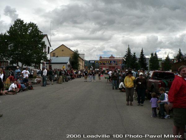 Leadville Trail 100 - v centru dění - Leadville, foto: Pavel Mikez