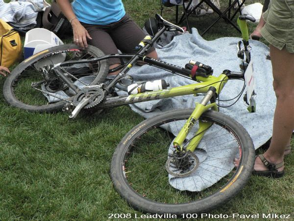 Leadville Trail 100 - Rotwild vítěze, foto: Pavel Mikez