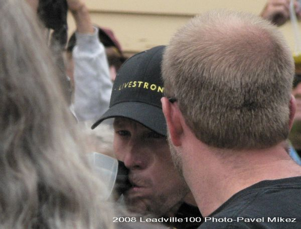 Leadville Trail 100 - Lance Armstrong, foto: Pavel Mikez