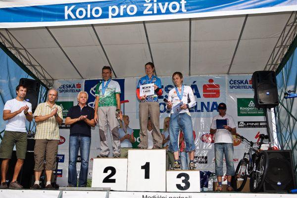 Kolo pro život Praha - Karlštejn Tour 9.8.2008, foto: Miloš Lubas