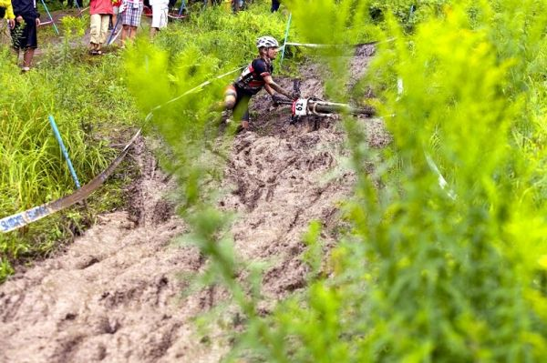 Nissan UCI MTB World Cup XC#7 - Bromont /KAN/ 3.8. 2008 - prost� hust�!