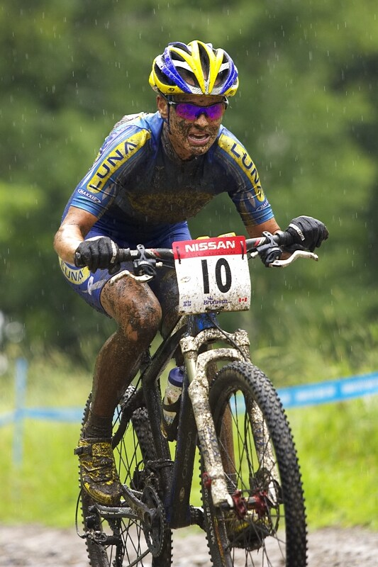Nissan UCI MTB World Cup XC#7 - Bromont /KAN/ 3.8. 2008 - Kate�ina Nash