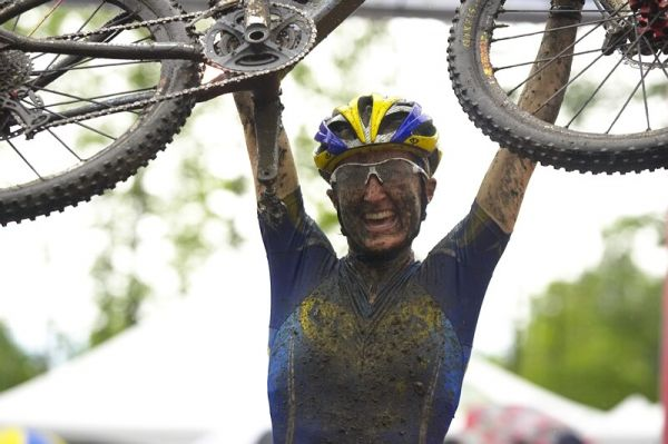 Nissan UCI MTB World Cup XC#7 - Bromont /KAN/ 3.8. 2008 - V�t�z� Catherine Pendrel
