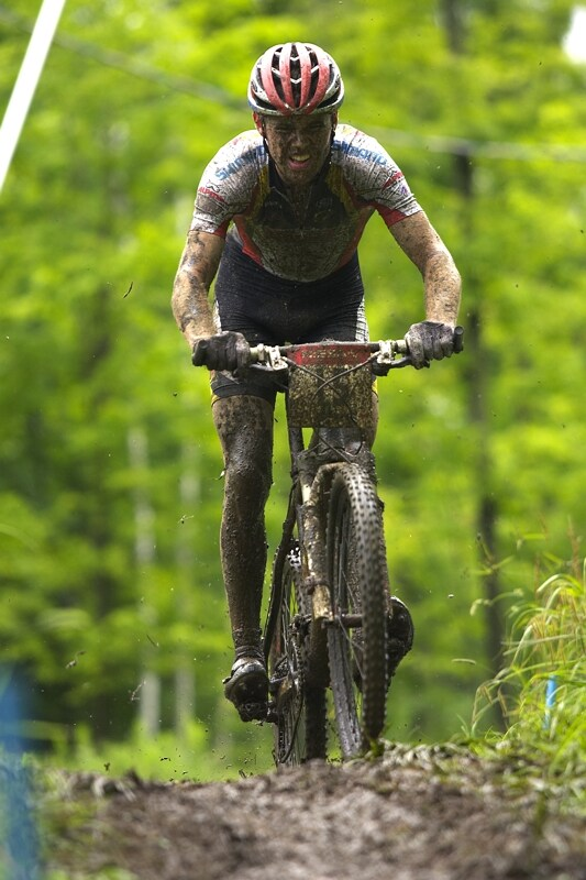Nissan UCI MTB World Cup XC#7 - Bromont /KAN/ 3.8. 2008 - Lakas Fluckiger
