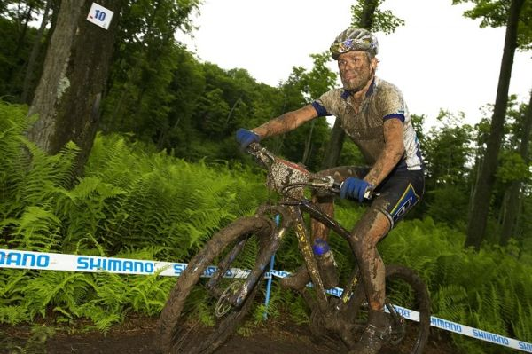 Nissan UCI MTB World Cup XC#7 - Bromont /KAN/ 3.8. 2008 - Burry Stander