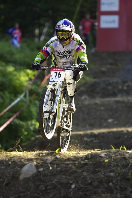 Nissan UCI MTB World Cup 4X #5 - Bromont /KAN/, 2.8. 2008 - Filip Polc