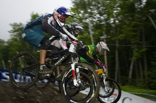 Nissan UCI MTB World Cup 4X #5 - Bromont /KAN/, 2.8. 2008 - Guido Tschugg