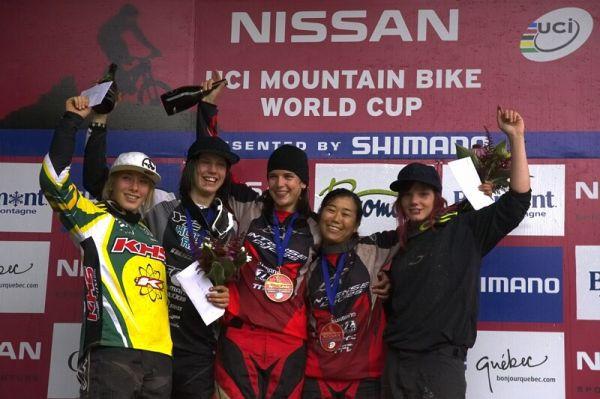 Nissan UCI MTB World Cup 4X #5 - Bromont /KAN/, 2.8. 2008 - nejlepší ženy