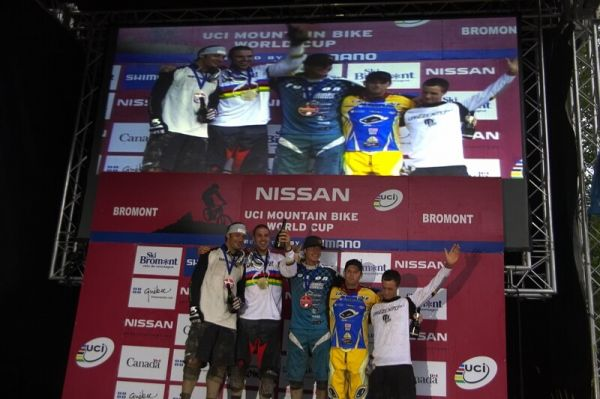 Nissan UCI MTB World Cup 4X #5 - Bromont /KAN/, 2.8. 2008 - nejlepší muži