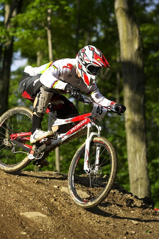 "Nissan UCI MTB World Cup 4X #5 - Bromont /KAN/, 2.8. 2008 - ""Rafa"""