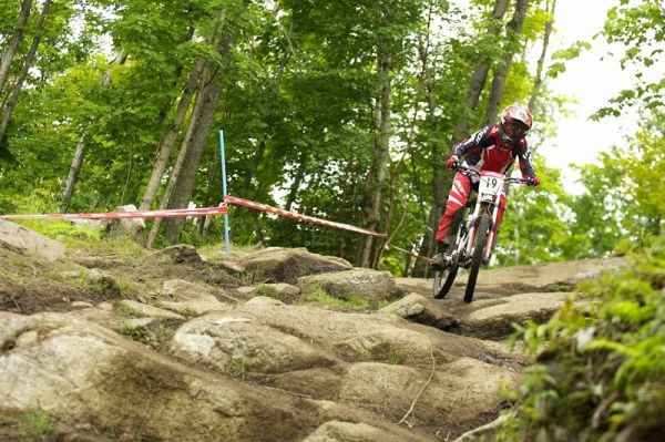 Nissan UCI MTB World Cup DH #5 - Bromont, 2.8. 2008 - Amy Laird