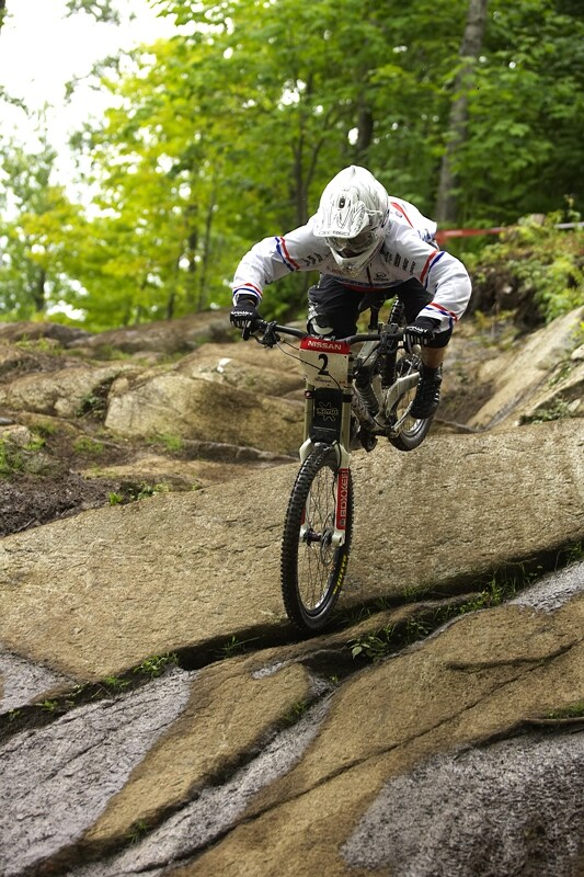 Nissan UCI MTB World Cup DH #5 - Bromont, 2.8. 2008 - Tracy Mosely
