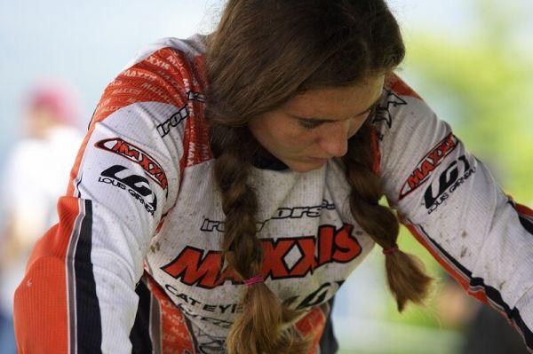 Nissan UCI MTB World Cup DH #5 - Bromont, 2.8. 2008 - Sabrina Jonier
