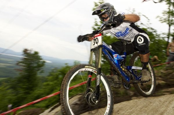 Nissan UCI MTB World Cup DH #5 - Bromont, 2.8. 2008 - Chris Kovarik